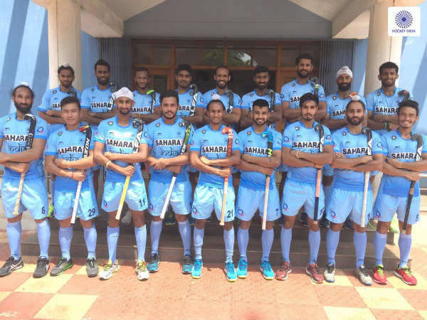 Indian hockey team (Image courtesy: Hockey India Twitter handle)