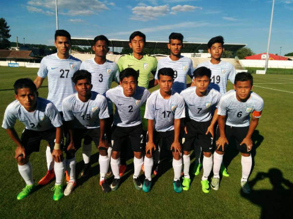 India U-17 team (Image courtesy: Indian Football Team Twitter handle)