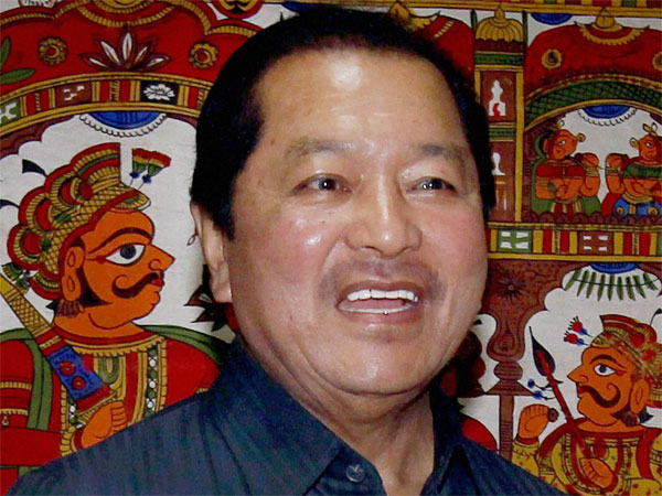 File photo of Mizoram CM Lal Thanhawla