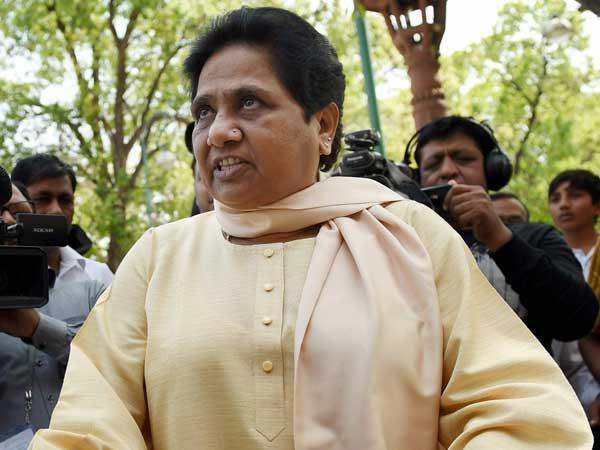 BJP responsible if anything happens to me: Mayawati