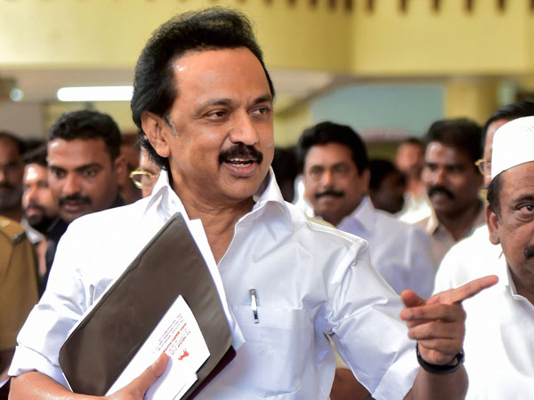 DMK Working President M K Stalin
