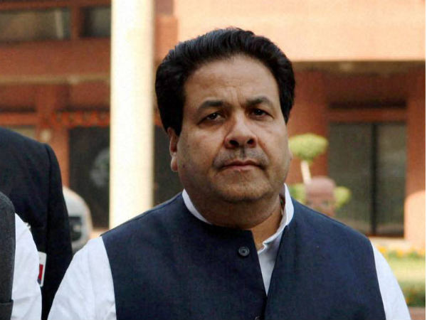 File photo of Congress Rajya Sabha MP Rajiv Shukla
