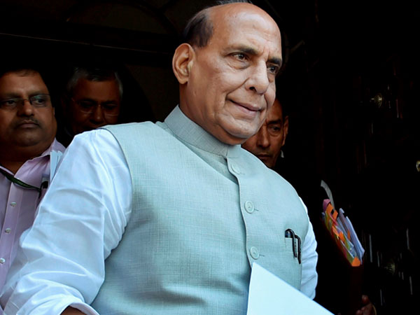 Rajnath slams Cong party's 'husband and wife' govt in Meghalaya over healthcare, law and order