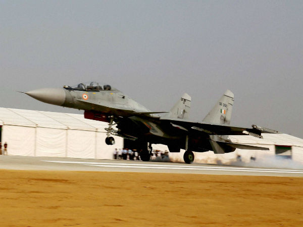 IAF's Sukhoi-30 with two pilots on board goes missing near Indo-China border