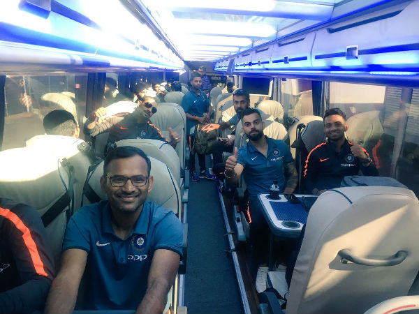 Champions Trophy 2017: Team India arrive in England to defend title