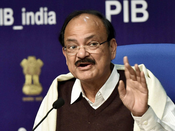 TN govt to sanction 3 lakh houses in 2017-18: Venkaiah Naidu