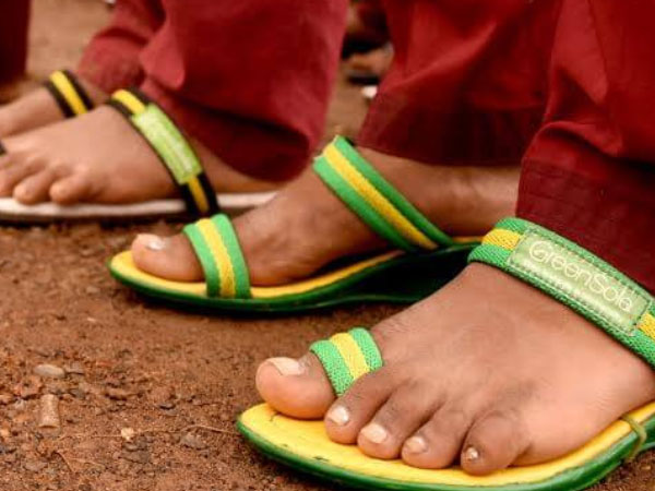 Shoes that make kids smile and save the environment
