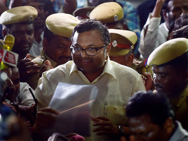 Madras High Court stays the CBI's lookout notice against Karti Chidambaram