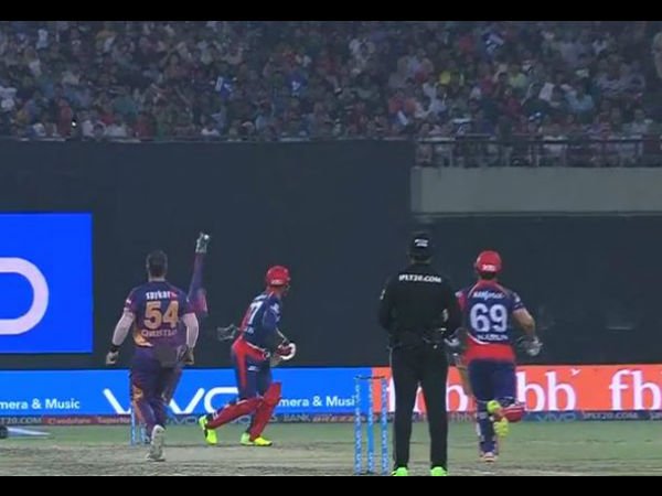 IPL 2017: Classic Catch! MS Dhoni takes a beauty behind the stumps