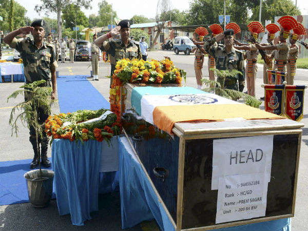 AC, carpet taken back from BSF martyr's home after CM's visit