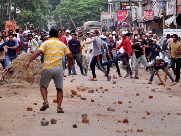 UP: Violence erupts in Saharanpur once again