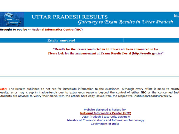 Uttarakhand board result 2017 today at 11 am, check at uaresults