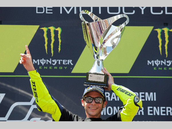 Rossi injured in motocross accident