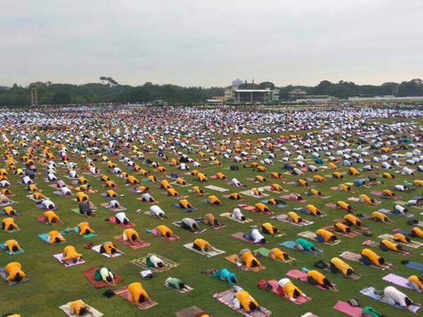 City all set to create Guinness Record on Yoga Day