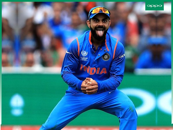 3. India Vs Ban: Kohli's epic tongue out reaction in semi-final