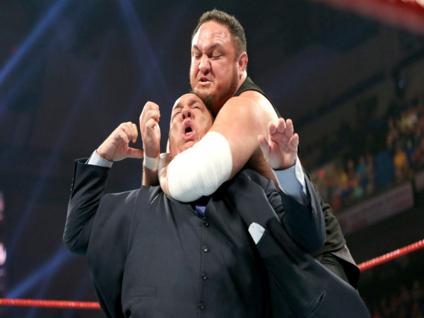 Brock Lesnar And Samoa Joe Come To Blows