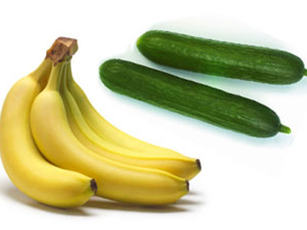 No cucumbers and bananas for women