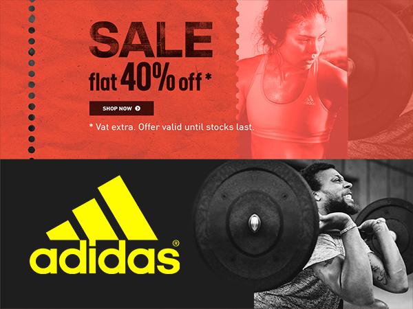 adidas flat 40 sale