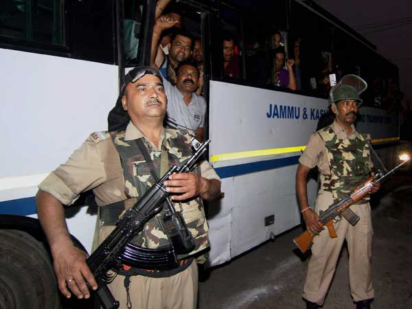 First batch of 2,481 pilgrims leave for Amarnath