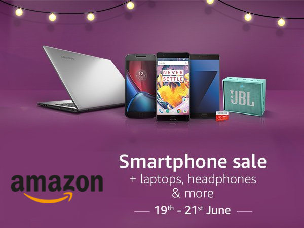 The Amazon Smartphone Sale (19th- 21st Jun) : iPhones, OnePlus, Moto UpTo 58% off*