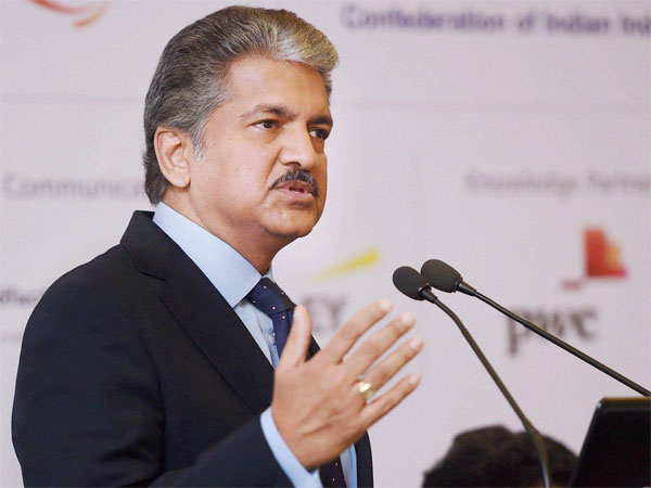 Chairman Mahindra Group Anand Mahindra