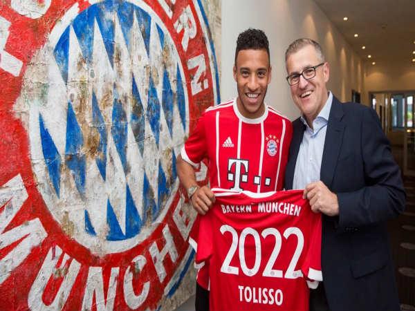Bayern Munich sign midfielder Corentin Tolisso from Lyon