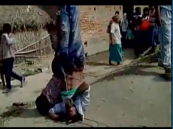 Bihar: Two young men hanged upside down, thrashed for stealing wedding chairs