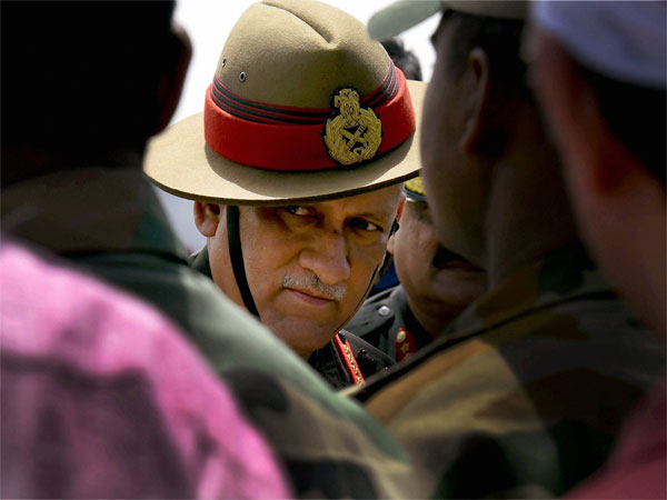 'Disinformation campaign' going on in Kashmir: Army Chief