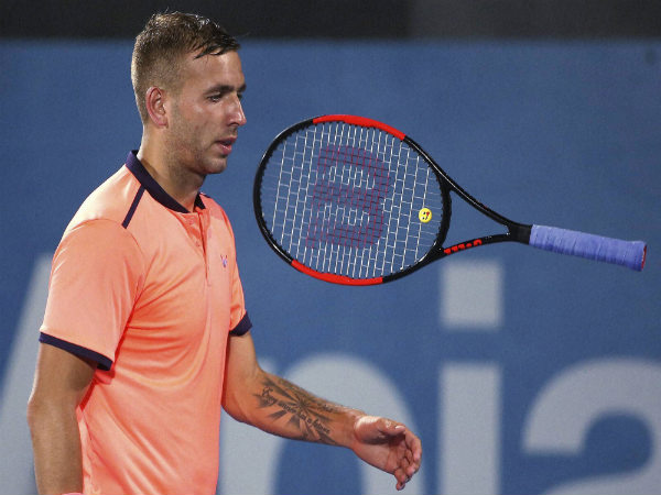 Tennis star Dan Evans announces he tested positive for cocaine in April - Oneindia