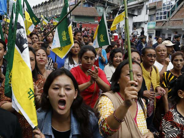 Scaling up of Gorkhaland protest: GJM to burn copies of 2011 GTA accord