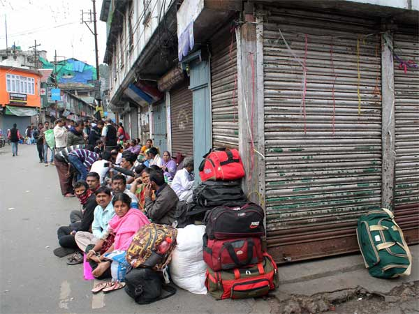 GJM protest affects tourism in Darjeeling