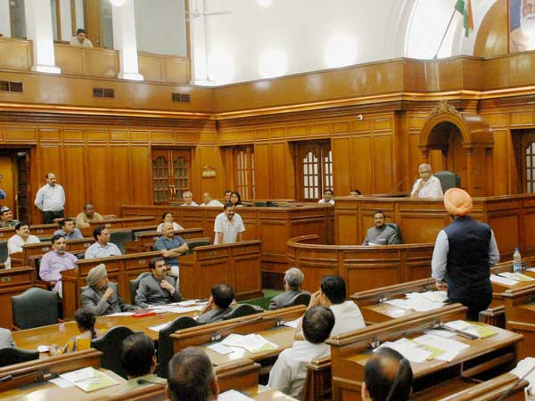 File photo of Delhi Assembly