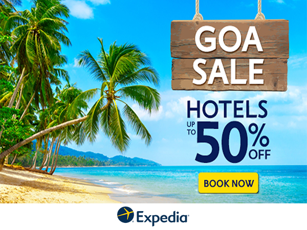 MONDAY MASHUP!! Choose among million of Flights, Hotels, Packages From Expedia, Get Upto 50% Off*