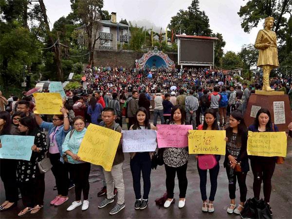 Now, a protest against Gorkhaland agitation in West Bengal