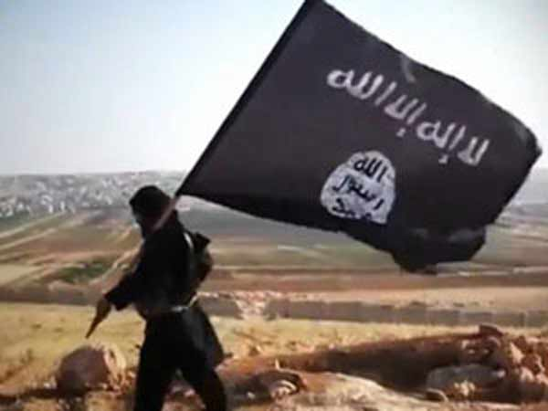 Terrorist killed in encounter found draped with ISIS flag