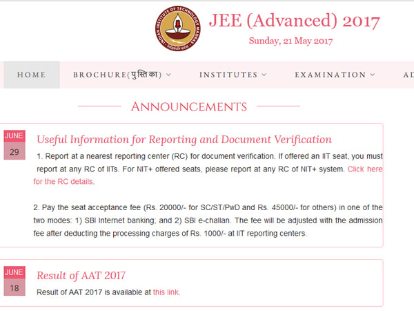 JEE Advanced 2017: SC notice on plea to conduct fresh counselling