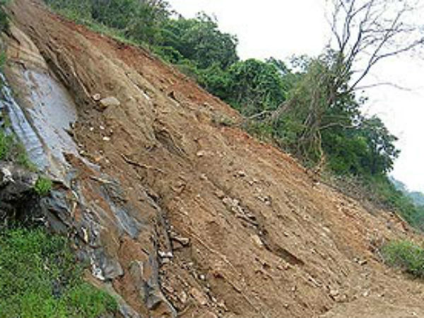File photo of a landslide