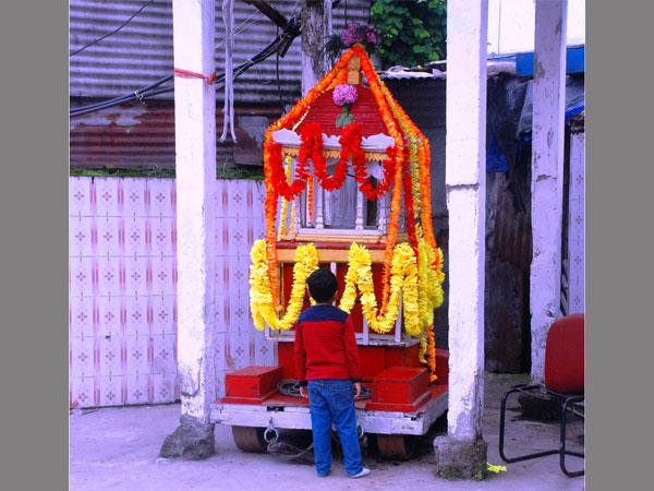 Indefinite bandh halts Lord Jagganath's travel plans in Darjeeling