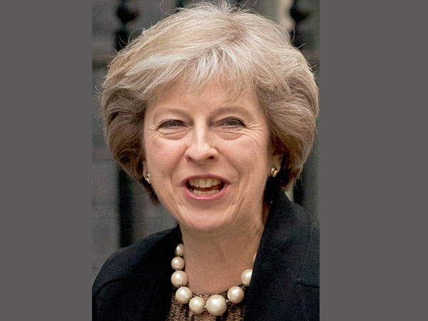 UK Prime Minister Theresa May