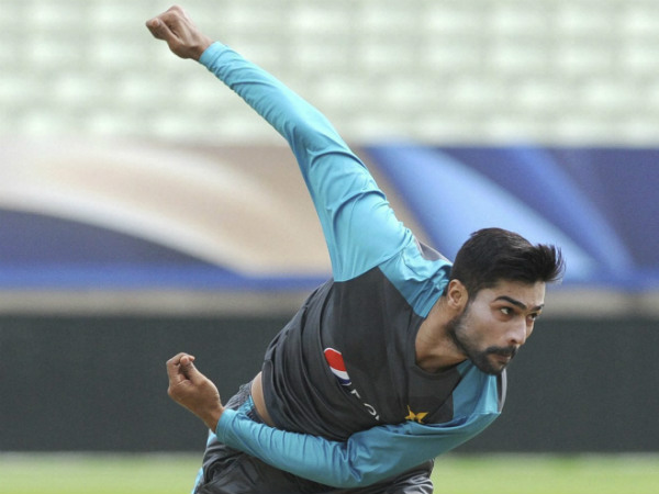 A file picture of Mohammad Amir