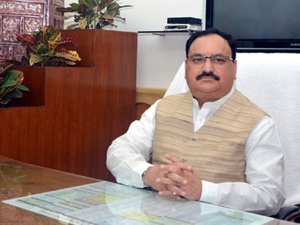 File photo of Union Health Minister J P Nadda