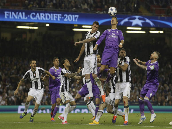 UCL: Real Madrid win record 12th title beating Juventus 4-1