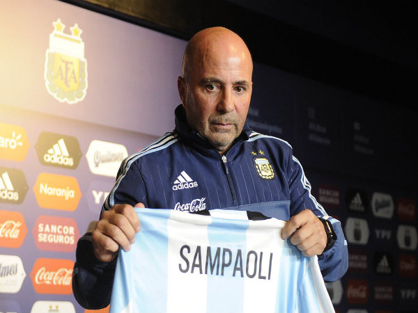 Argentina manager Jorge Sampaoli says Lionel Messi's excitement a boost for team