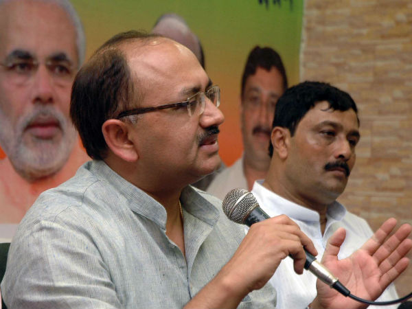 File photo of UP Minister Siddharth Nath Singh