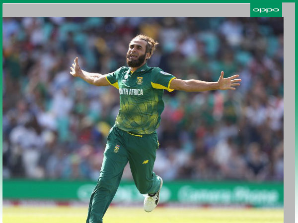 Imran Tahir took 4 wickets (Image courtesy: ICC Twitter handle)