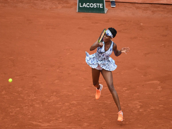 Venus Williams (Image courtesy: French Open Twitter handle)