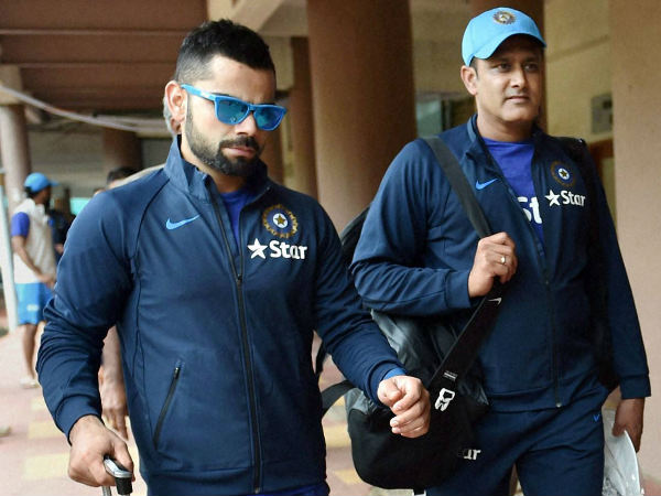 Anil Kumble did not travel with India team for West Indies tour