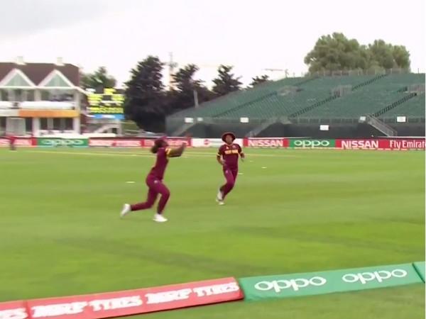 Women's World Cup: Watch WI fielder taking a stunning catch