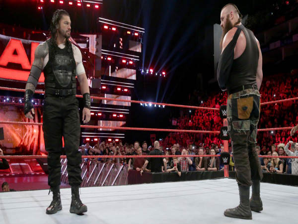 Roman Reigns (left) and Braun Strowman (Image courtesy: wwe.com)