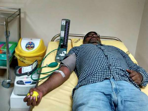 Blood donation in Bengaluru